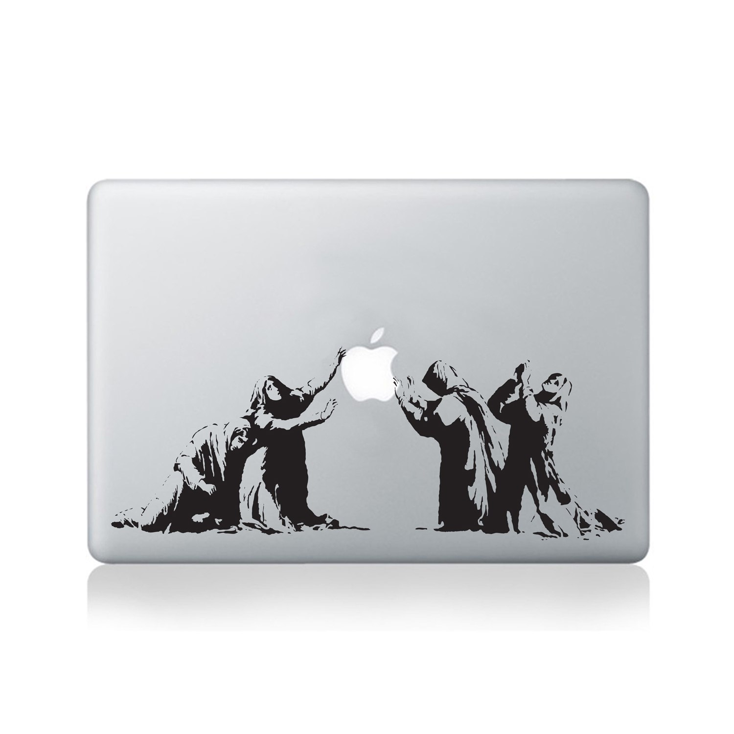 banksy macbook stickers wall art vinyl revolution macbook banksy sale