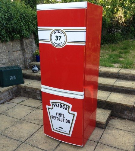 tomato ketchup fridge wrap