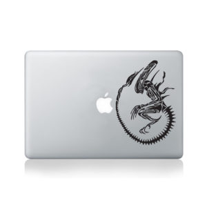 Alien Macbook Decal