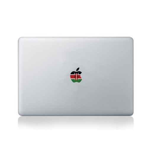 Apple Flag of Kenya Macbook Sticker