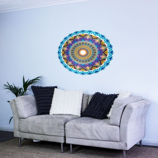 aztec mandala wall art
