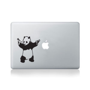 Banksy Panda Macbook Decal