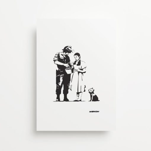 Banksy Wizard Of Oz Search Giclee Print