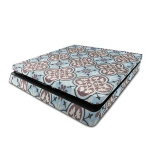 Blue Patterned Tiles PS4 Slim Skin