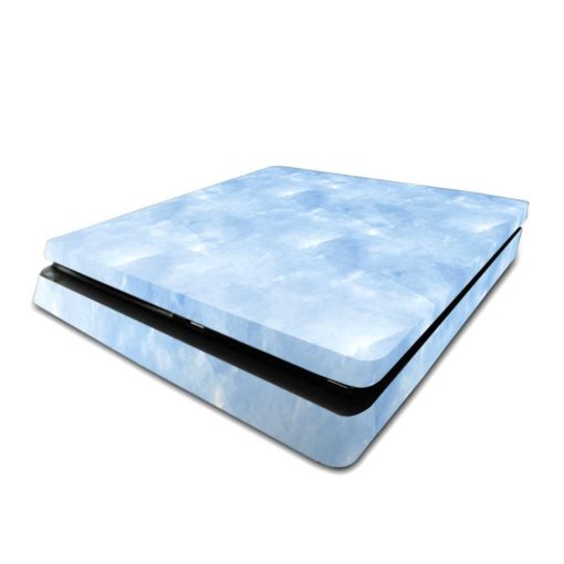 Blue Watercolour PS4 Slim Skin