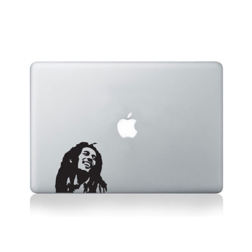 bob marley macbook decal