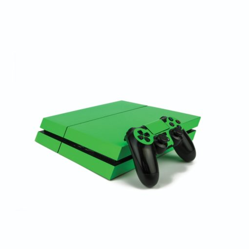 Bright Green PS4 Vinyl Wrap