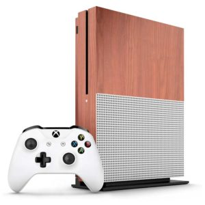 Cherry Wood Xbox One S Skin
