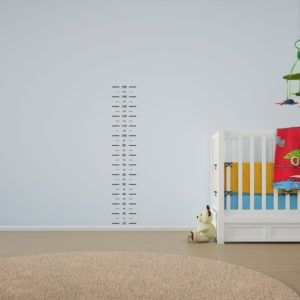 Child's Growth Chart Ruler Wall Art