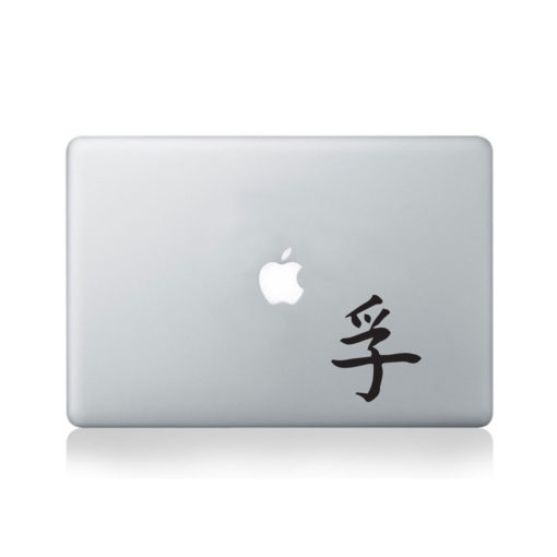 Chinese Symbol for Truth Macbook Decal