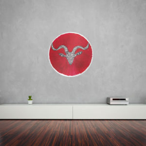 Chinese Year of the Goat Wall ArtChinese Year of the Goat Wall ArtChinese Year of the Goat Wall Art