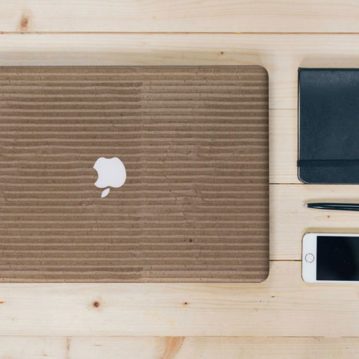 Corrugated Cardboard Macbook Skin