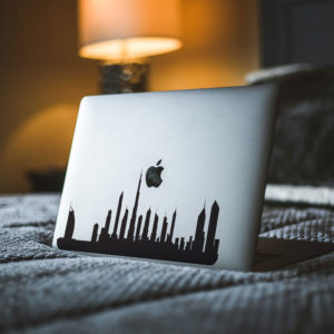 Dubai City Skyline Macbook Decal