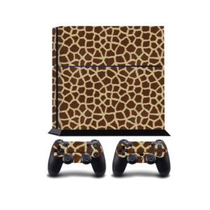 Giraffe Fur PS4 Vinyl Wrap