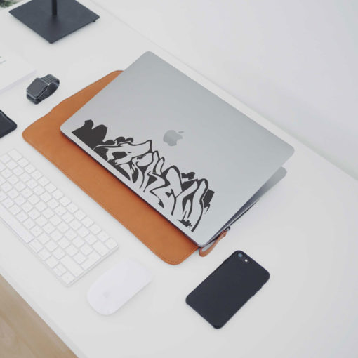 Graffiti Askew Macbook Decal