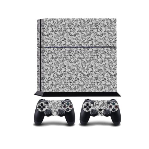 Grey Marble PS4 Vinyl Wrap