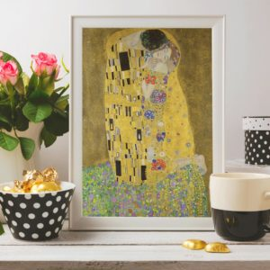 "Gustav Klimt ""The Kiss"" (1908) Giclee Print"