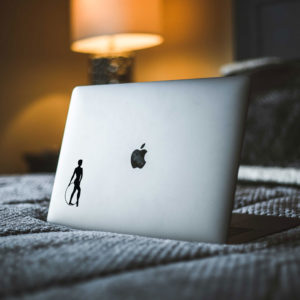Gymnast Hoop Macbook Decal