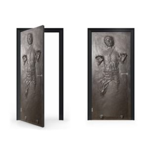 han solo carbonite doorwrap door sticker