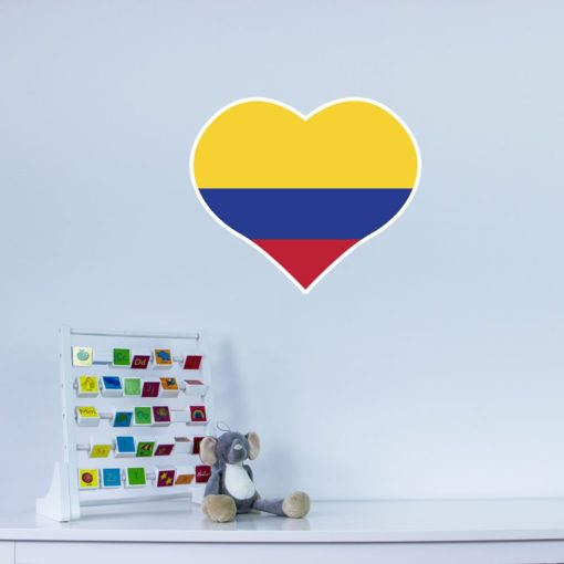 I Love Colombia Wall Art