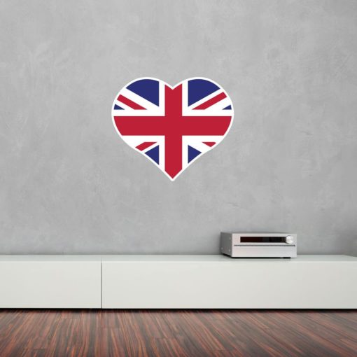 I Love United Kingdom Wall Art