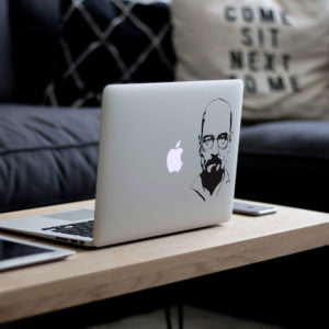 Heisenberg Portrait Macbook Decal