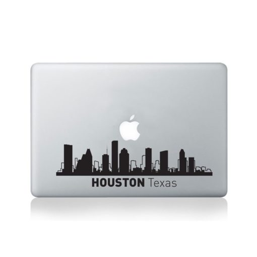 Houston City Skyline Macbook DecalHouston City Skyline Macbook Decal