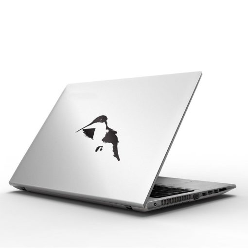 hummingbird macbook decal