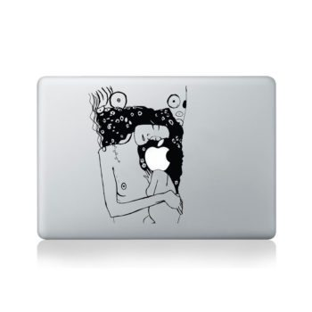 Klimt The Kiss Macbook Decal