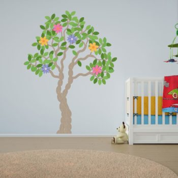 Knitted Tree Wall Art