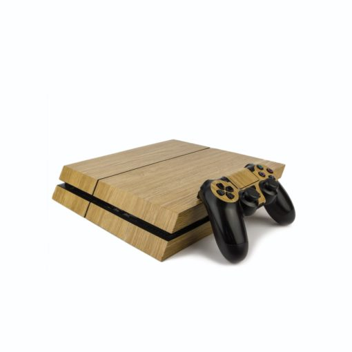 Light Oak PS4 Vinyl Wrap