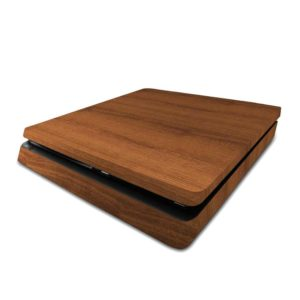 Mahogany Wood PS4 Slim Skin