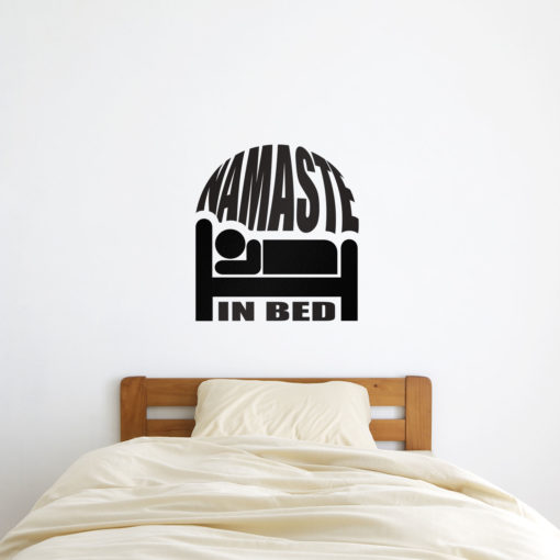 Namaste in Bed Wall Art