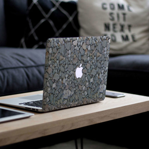 Pebbles Macbook Skin