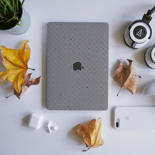 Plated Metal Macbook Skin