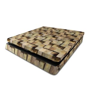 Raised Stone Blocks PS4 Slim Skin