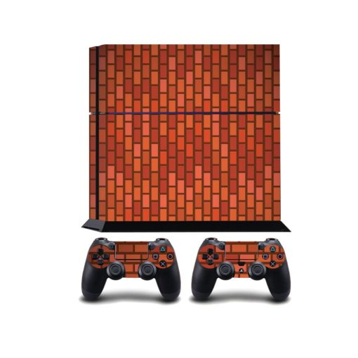 Red Brick PS4 Vinyl Wrap