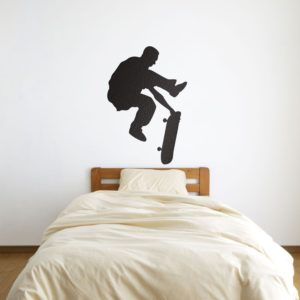 Skater Flipping Wall Art