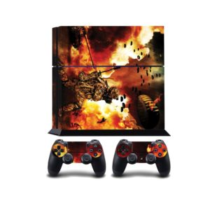 Soldier In The Flames PS4 Vinyl Wrap