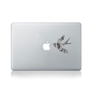 Soul Searching Swallows Macbook StickerSoul Searching Swallows Macbook Sticker