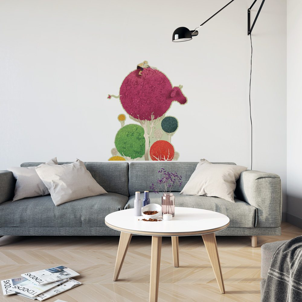 Spherical Cow Wall Art