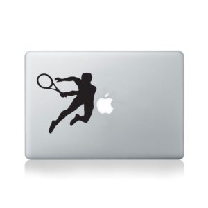 Tennis Player Macbook Decal