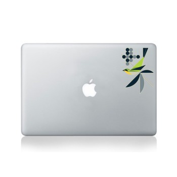 Warbler Macbook Sticker